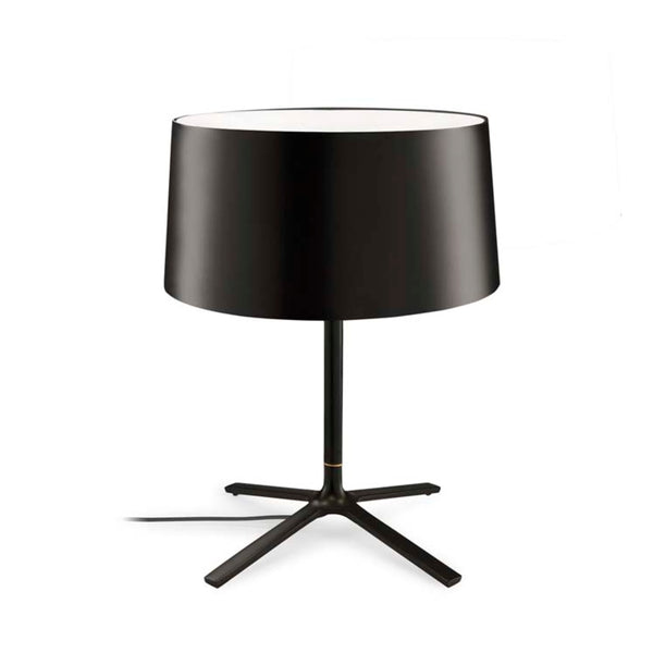 TABLE LAMP HALL 3 X E27 18  MATT BLACK