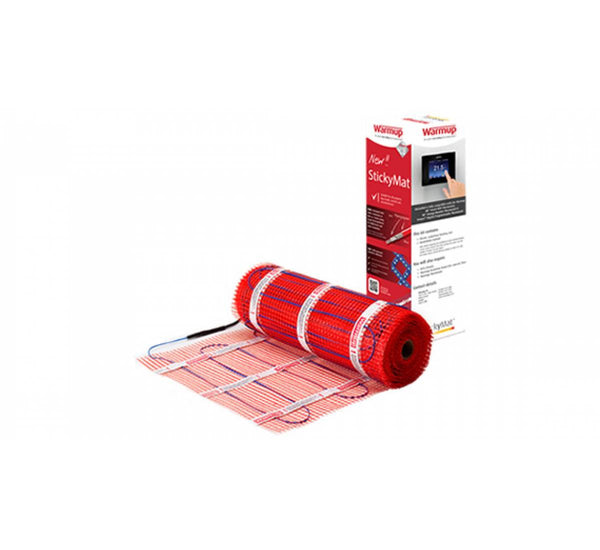 Warmup StickyMat - Underfloor Electric Heating Mat - 150 or 200 W/m² output