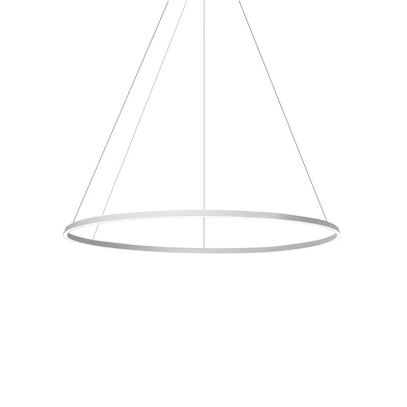 PENDANT CIRCULAR 2790 X LED 223.5  MATT BLACK