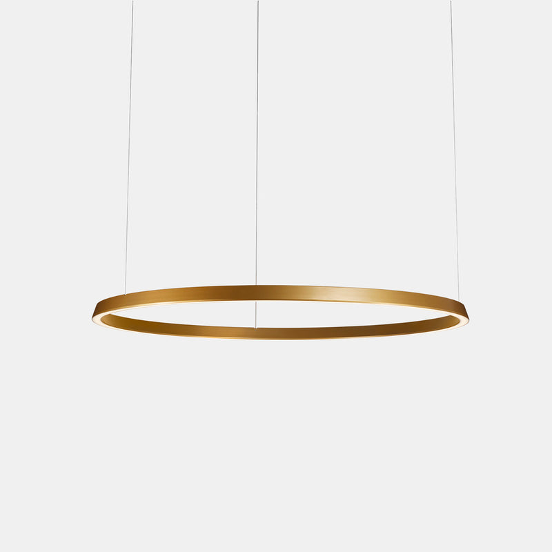 PENDANT CIRCULAR 1458 X LED 120  MATT BLACK