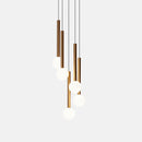 Pendant CANDLE LED 15.6 844 LED warm-white 2700K DALI Gold