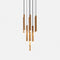 Pendant CANDLE LED 40.3 2194 LED warm-white 2700K DALI Gold