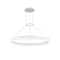 PENDANT CIRC 504 X LED 31  MATT WHITE
