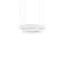 PENDANT CIRC 882 X LED 53  MATT WHITE
