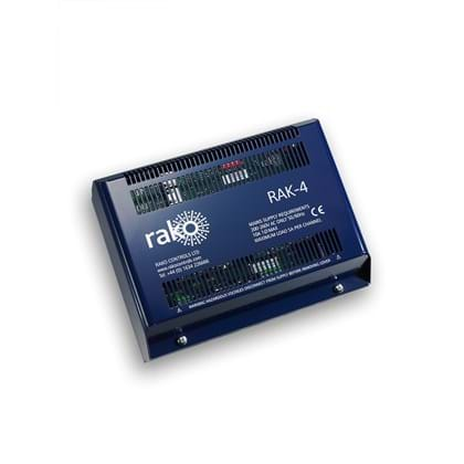 Rako 4 Channel Twin Relay Curtain And Blind Control Rack