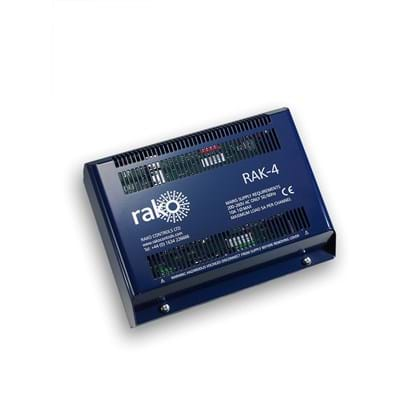 Rako 4 Channel Trailing-Edge Dimming Control Rack.