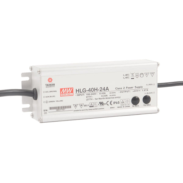 Mean Well HLG 24A Constant Voltage LED Driver 24V