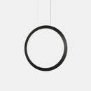 PENDANT CIRCULAR VERTICAL LED 63.5 2458 LED WARM-WHITE 3000K BLACK