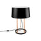 TABLE LAMP PREMIUM 3 X E27 18  SHINY COPPER