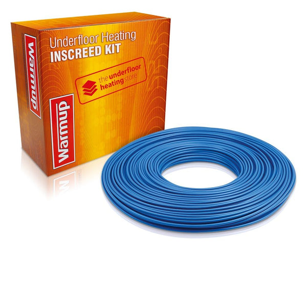Warmup - Inscreed Cable System - Underfloor heating for concrete floors