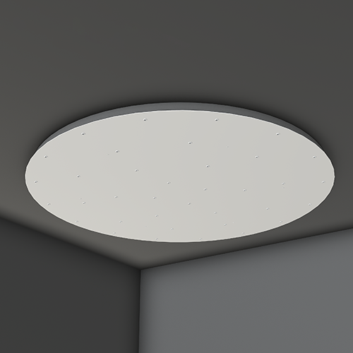 Canopies Light Round Clustyer