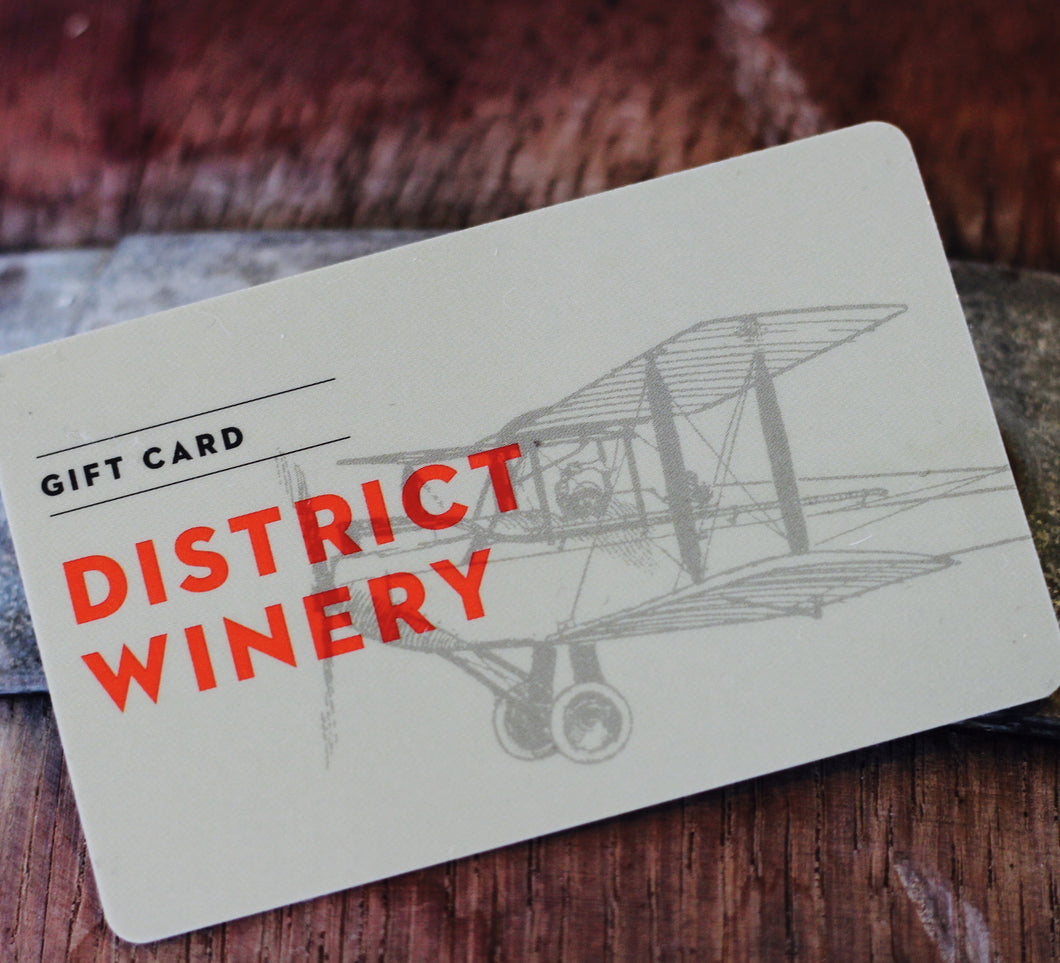District Winery Gift Card