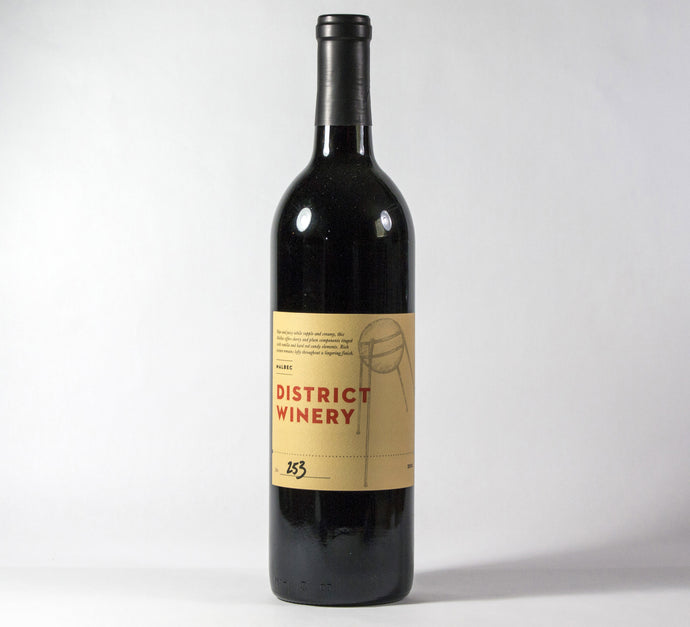 2016 District Winery Malbec Wine