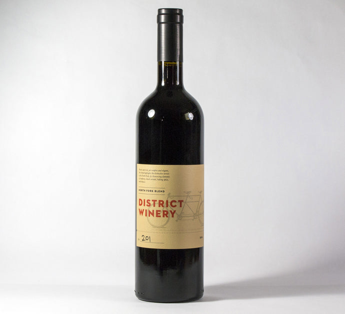 2014 District Winery North Fork Blend Wine