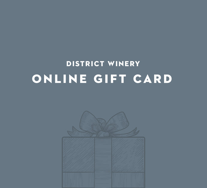 Online Wine Store Gift Card