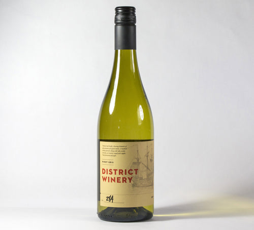 2017 District Winery Pinot Gris Wine