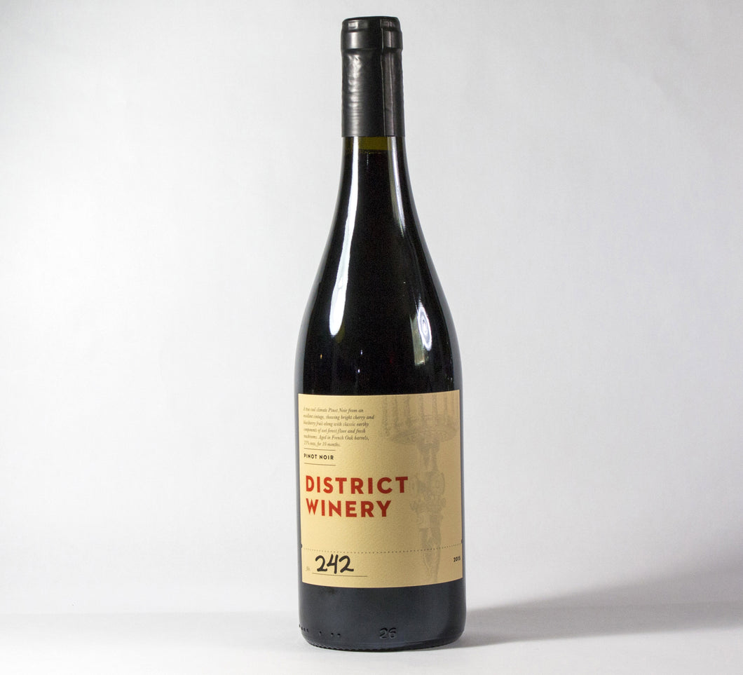 2015 District Winery Pinot Noir - Columbia Gorge Wine