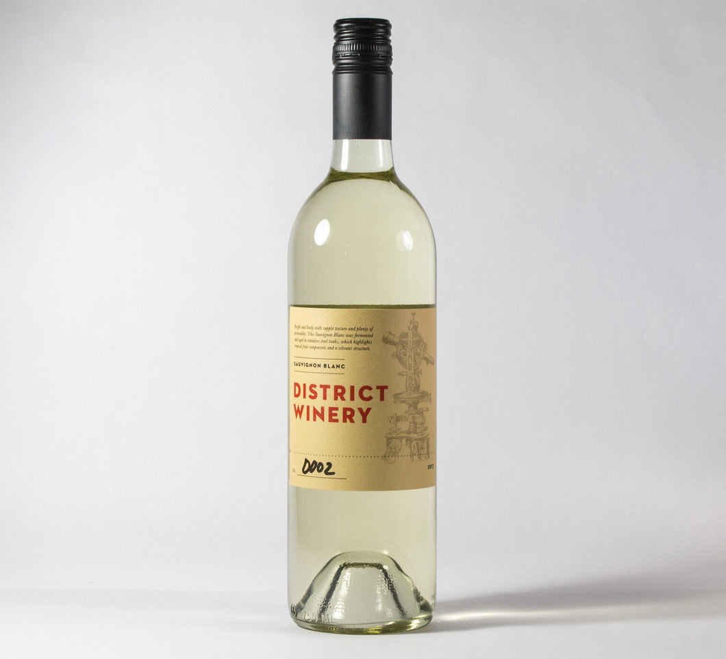 2017 District Winery Sauvignon Blanc Wine