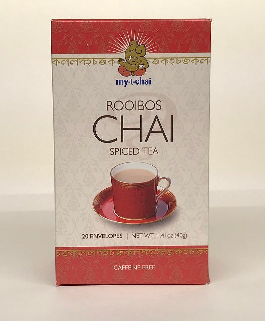 Canada FREE SHIPPING - My T Chai Spiced Herbal Tea - 6 pack (120 individually wrapped servings)