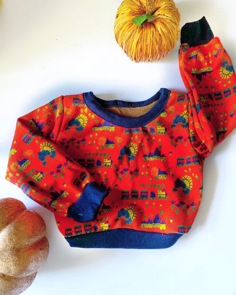 Happy Day Sweatshirt 12/18m