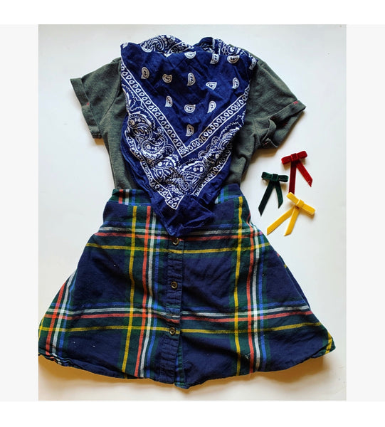 Charcoal Sadie Skirt can be made 12m-2t