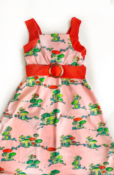 Mary Mack Dress in Mushies