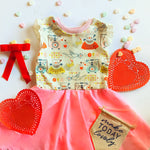Love Note Twirl Dress 4t