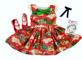 The Christmas Express Dress