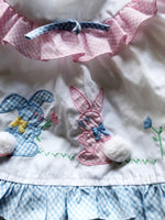 Vintage bunny Swing top 6-12m