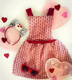 Hearts on Fire jumper 4t/5t ooak