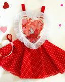 I Like You Bear-y Much Valentines Globe jumper 4t/5t