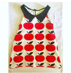 A is for Apple mod Dress RTS 3t