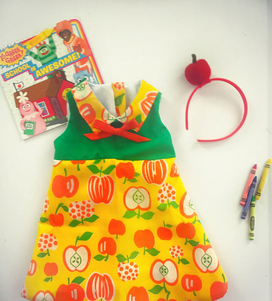 Apple a Day Mod Dress