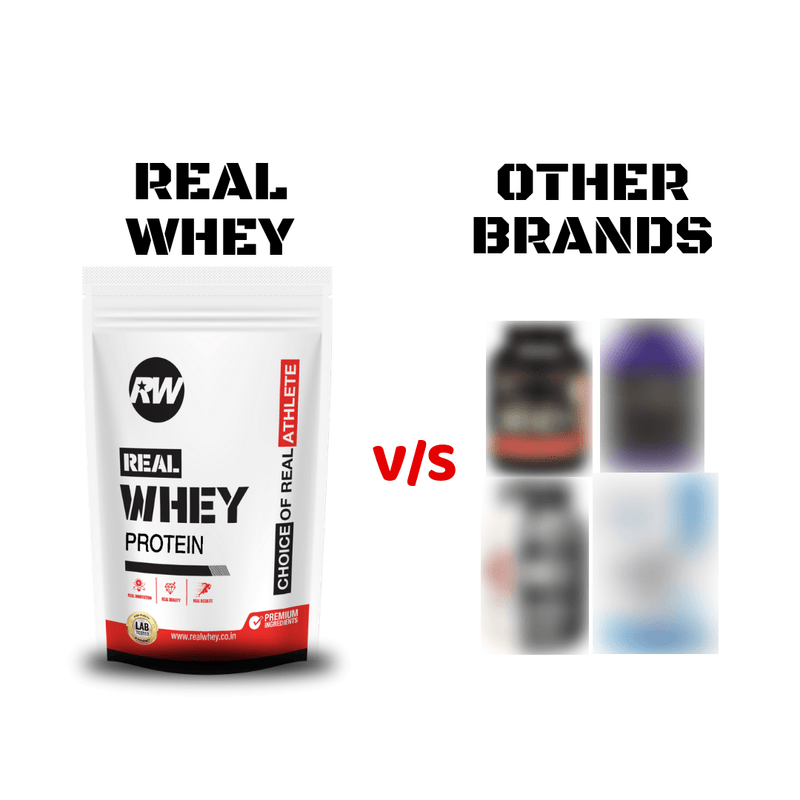 Real Whey vs Other Brands