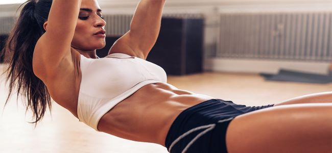 Easy abs in simple 5 moves