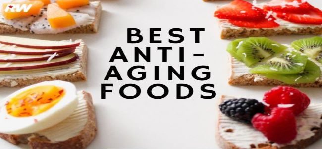 The 8 Best Anti-Aging Foods