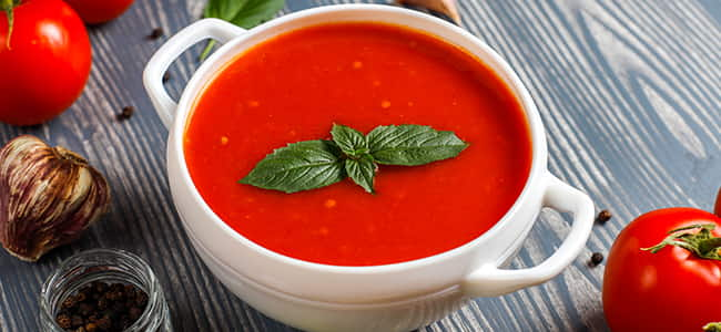 6 Health Benefits of Tomato Soup