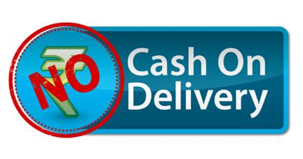 Why no cash-on-delivery offered?