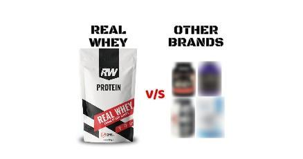 real whey and other brands
