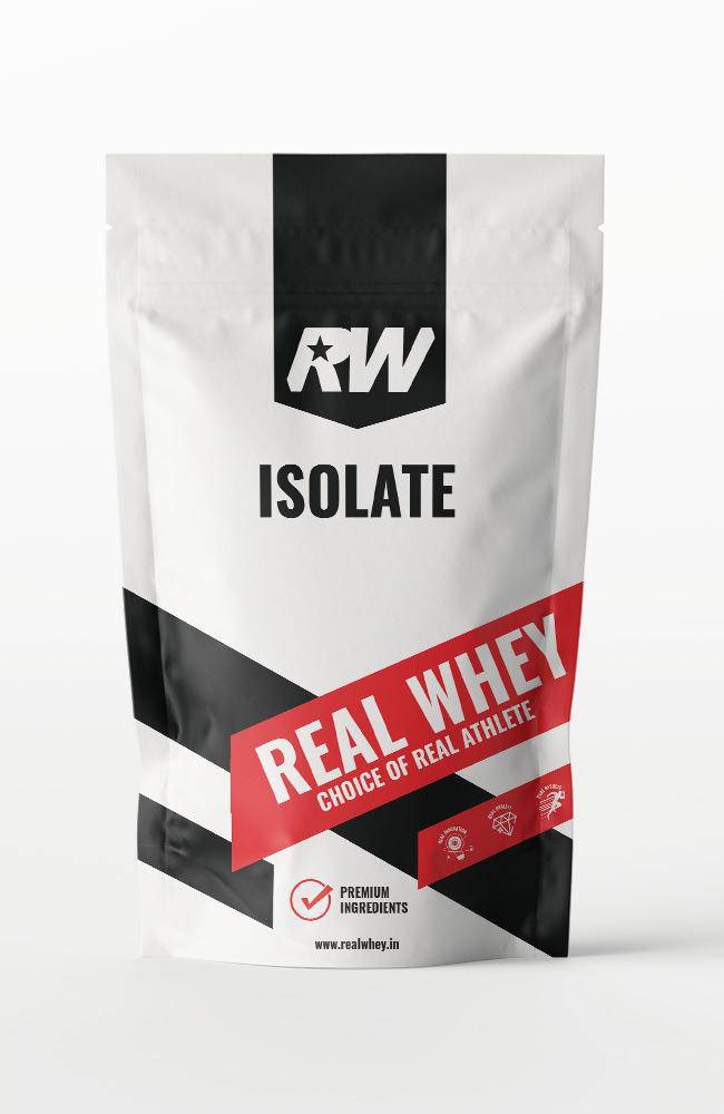 Real Whey Isolate - Real Whey