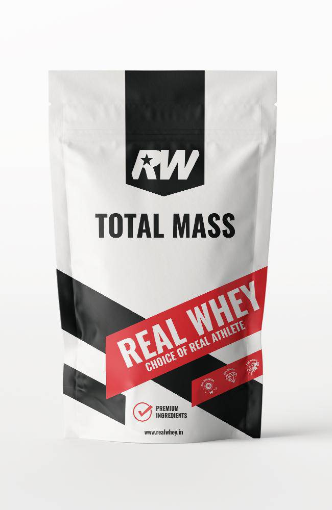 Total Mass- Weight Gainer - Real Whey