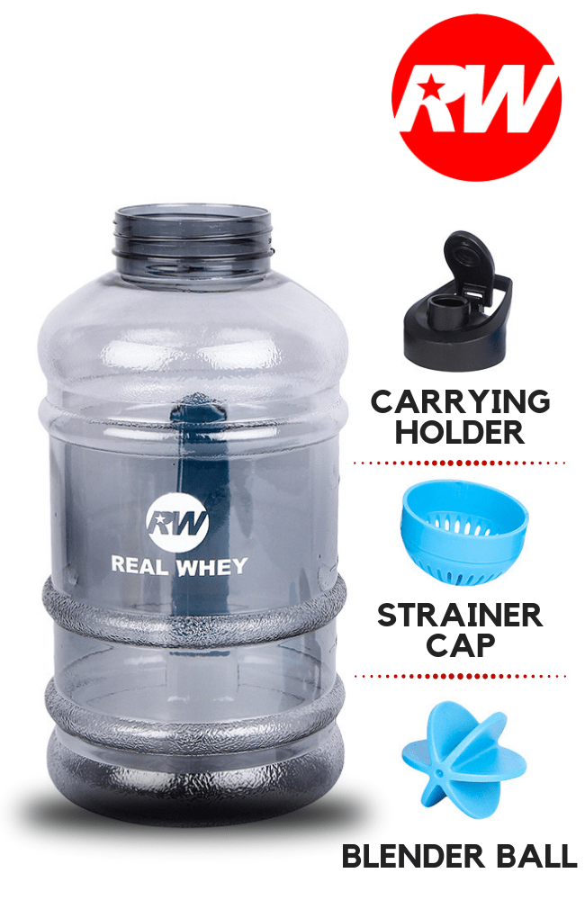 Real Whey Gallon Water Bottle - Real Whey