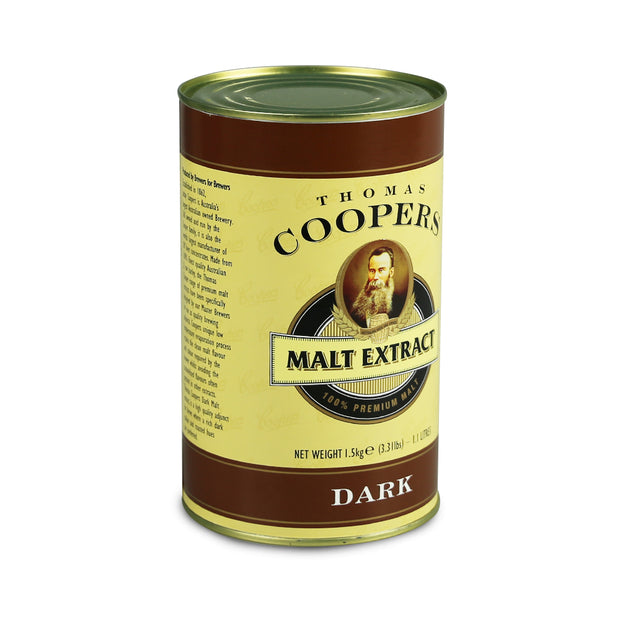 Coopers 1.5kg Dark Liquid Malt Extract - Brew2Bottle Home Brew