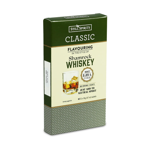 Still Spirits 2.25 Litre Twin Sachet Classic Flavouring - Shamrock Whiskey - Brew2Bottle Home Brew