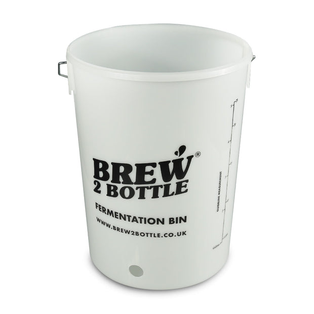 Brew2Bottle 25ltr Fermentation Bucket Bored For Tap - Brew2Bottle Home Brew