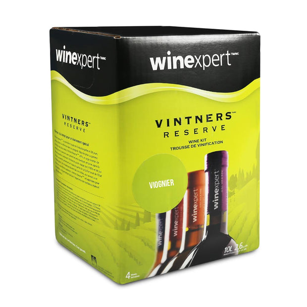 Winexpert Vintners Reserve 30 Bottle White Wine Kit - Viognier - Brew2Bottle
