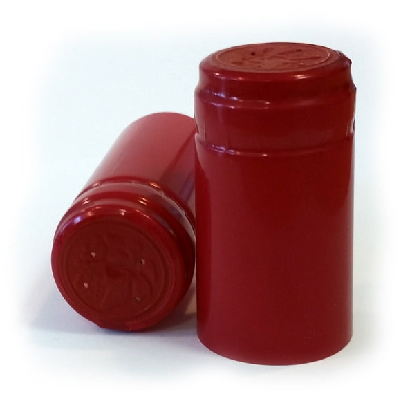 PVC Shrink Caps - Light Red (1000 Pack) - Brew2Bottle Home Brew