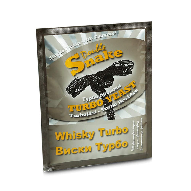 DoubleSnake Whisky Turbo Yeast - Brew2Bottle Home Brew