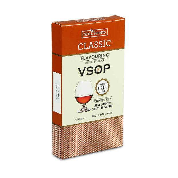 Still Spirits 2.25 Litre Twin Sachet Classic Flavouring - VSOP Brandy - Brew2Bottle Home Brew
