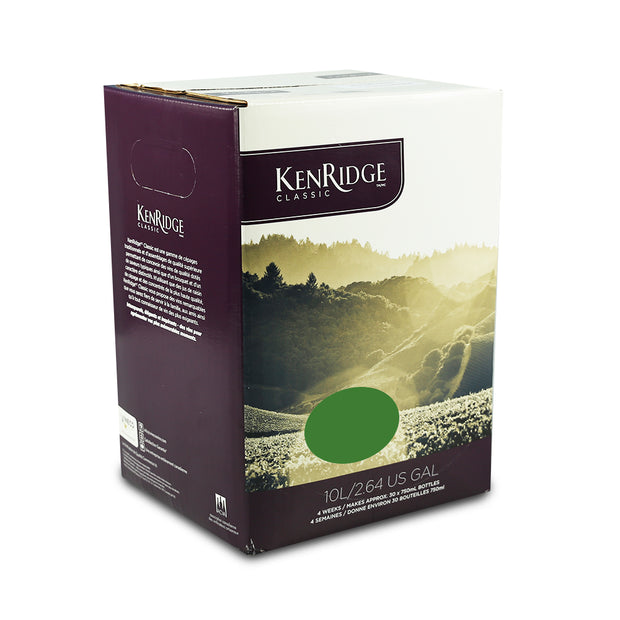 KenRidge Classic 30 Bottle 4 Week Traminer Riesling White Wine Kit - Brew2Bottle